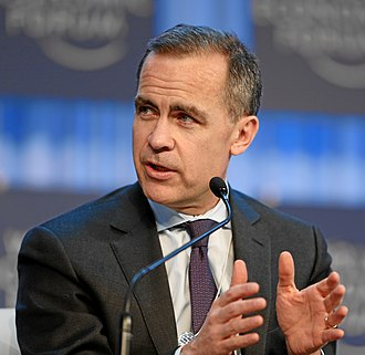 Nuffield College, Oxford - Image: Mark Carney World Economic Forum 2013 (3)