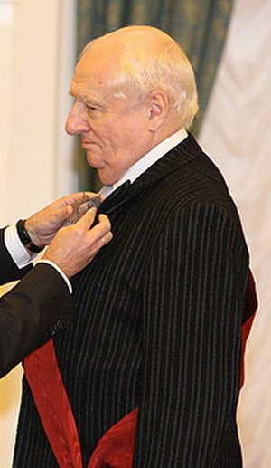 Mark Zakharov - Receiving the Order of Service to the Fatherland I class in 2008