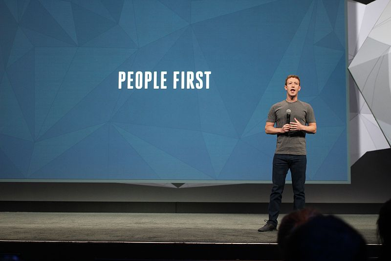File:Mark Zuckerberg on stage at Facebook's F8 Conference (15051962555).jpg