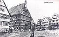 Marktplatz Markgröningen um 1900 Web.jpg