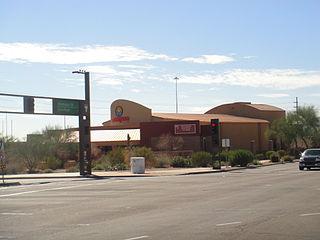 Marquee Theatre music venue in Tempe, Arizona