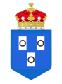 Marquess of Trelissick Crest with Coronet (no background).png