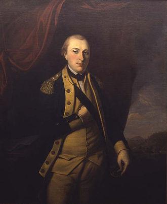 Hand-in-waistcoat - Image: Marquis de Lafayette 3