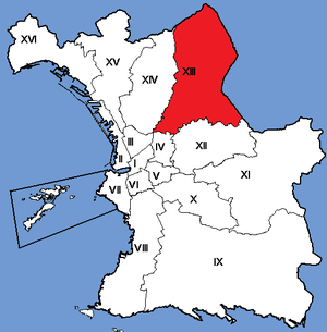 13th arrondissement of Marseille - Image: Marseille Arrondissements 13