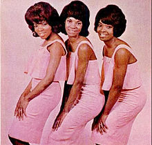 Martha and the Vandellas in 1965. (L-to-R) Rosaland Ashford, Martha Reeves, and Betty Kelley.