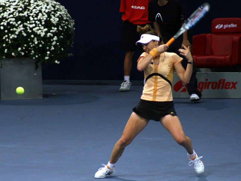 Martina Hingis am Zurich Open 2006