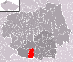 Location of Martiněves