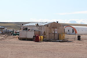 Mary River (Nunavut) - Image: Mary River Airport