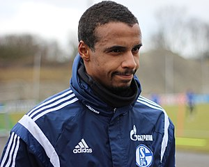 Joël Matip - Matip with Schalke 04 in 2015