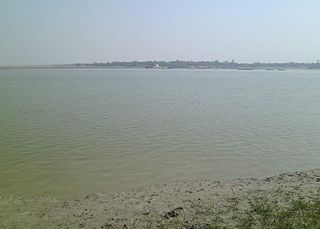 Matla River river of Bengal in Sundarban area