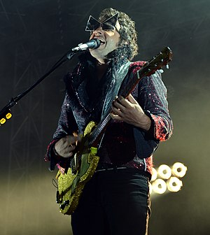 Matthieu Chedid - Chedid performing in 2014