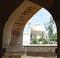 Mausoleum of Khan Sahib.JPG
