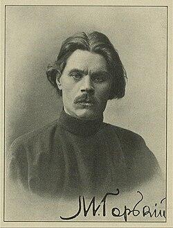 Fotograf?a autografiada de Máximo Gorki.