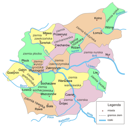 Mazowsze Wikipedia Wolna Encyklopedia
