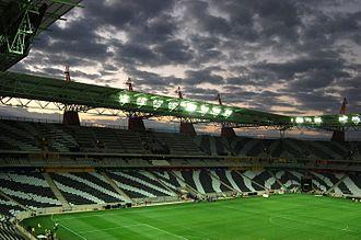 Mbombela Stadium - Image: Mbombela Stadium arena