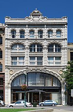 McCarthy Building, located in the Central Troy Historic District in Troy, New York, United States