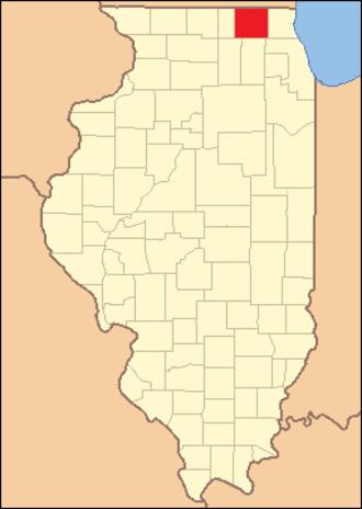 McHenry County, Illinois - Image: Mc Henry County Illinois 1839