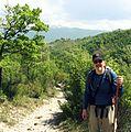 Me ascending toward Fontecolombo (3541655573).jpg