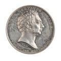Medalj, Carl Magnus Mellgren, 1835 - Skoklosters slott - 110794.tif