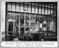 Mediaeval leicester billson f086 Oak Screen from Wigstons Hospital Chapel.png