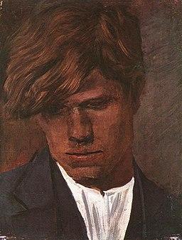 Mednyánszky, László - Head of a Boy (ca 1890)