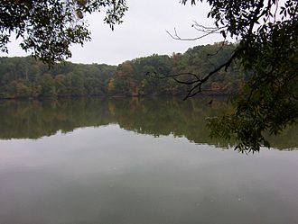 Meeman-Shelby Forest State Park - Image: Meeman shelby park scenic