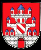 Das Wappen von Meerane