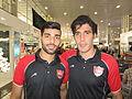 Mehdi Taremi and Alireza Nourmohammadi.JPG