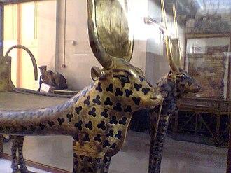 Mehet-Weret - Mehetweret in Tutankhamun's tomb