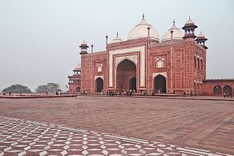 Mehmaan khana - Mehmaankhana at Taj Mahal.