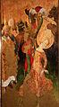 Meister francke, altare di santa barbara, amburgo 1420 circa, dalla chiesa di kalanti, 08 decapitazione 2.JPG
