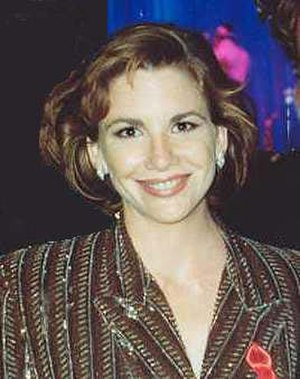 Melissa Gilbert - Gilbert at the 1991 Emmy Awards
