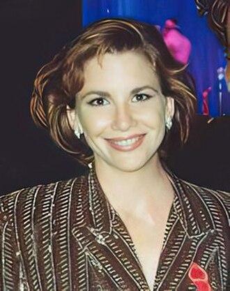 Melissa Gilbert - Gilbert at the 1991 Emmy Awards