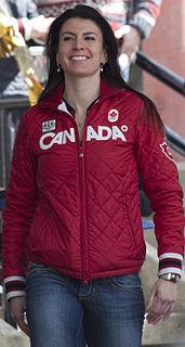 Mellisa Hollingsworth Canadian skeleton racer