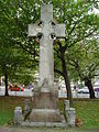 Memorial cross in Everton Park, Liverpool.JPG