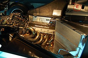Ilmor - A 2000 McLaren MP4-15's Mercedes-Benz FO110J 3.0 litre V10 engine, made by Ilmor