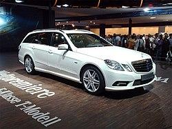 (S212) E200 CDI (136Hp) BlueEFFICIENCY.  Начало выпуска.  4. Mercedes-Benz E-klasse T-mod.