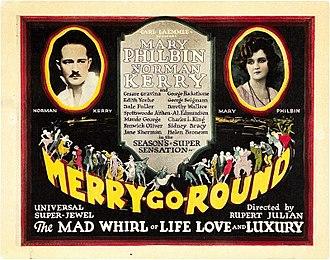 Merry-Go-Round (1923 film) - Lobby card