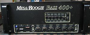 Mesa Boogie - Image: Mesaboogie bass 400plus front
