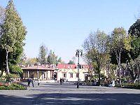 Edificio sede de la Delegación Coyoacán, en el Jardín Hidalgo