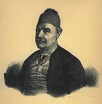 """Ο ναύαρχος Ανδρέας Μιαούλης, ο """"γενάρχης"""" των ΜιαούληδωνKarl Krazeisen, 1827"""