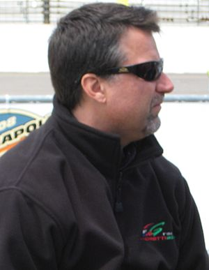 Andretti curse - Andretti at the Indianapolis Motor Speedway in May 2008.