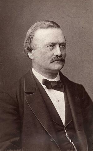 Michael Birkeland - Image: Michael Birkeland, ca. 1880 1890, foto Ludwik Szacinski de Ravics, Oslo Museum, OB.F03383C