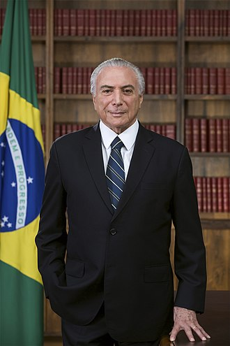 President of Brazil - Image: Michel Temer (foto oficial)