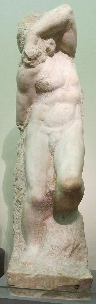 Young Slave - Image: Michelangelo buonarroti, Schiavo giovane, 1525 30 ca. 06