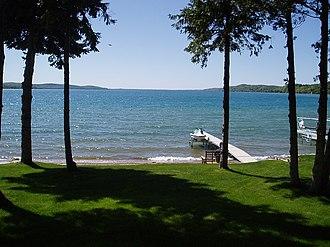 Crystal Lake (Benzie County, Michigan) - Image: Michigan's Crystal Lake