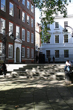 Patrick D'Arcy - A modern-day view of Middle Temple