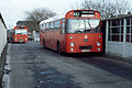 Midland Red NBC bus 6444 Leyland Leopard Marshall CHA 444K in Nuneaton Bus Station, Warwickshire February 1983.jpg