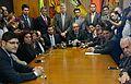 Miguel Reale Jr. e Maria Bicudo entregam a Eduardo Cunha o pedido de impeachment de Dilma Rousseff.jpg