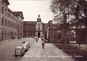 Università Cattolica del Sacro Cuore - UCSC in 1950s